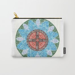 stained flower Carry-All Pouch