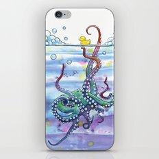Bath Time Octopus iPhone & iPod Skin