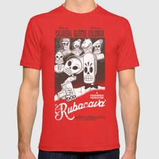 Rubacava MEDIUM Mens Fitted Tee Red