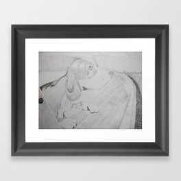 Doggy Framed Art Print