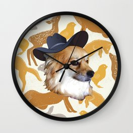 Miss Meeya Wall Clock