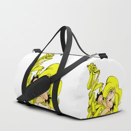 Banana Flavor Girl Duffle Bag