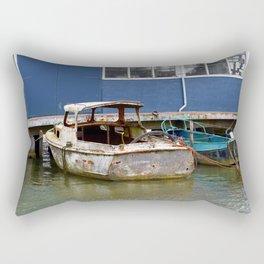 Still afloat Rectangular Pillow
