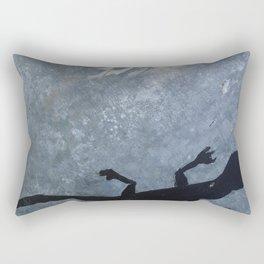 Lizard on metal Rectangular Pillow