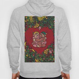Monkey's love Hoody