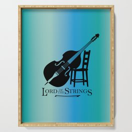 Double Bass Lord of the Strings Serving Tray