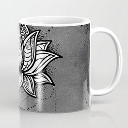 Lotus zentangle design Coffee Mug