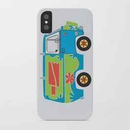 Mystery of the Lost Parts iPhone Case