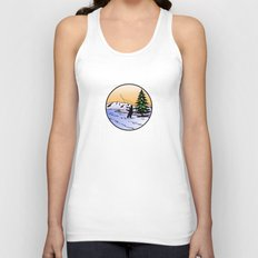 fly fishing Unisex Tank Top