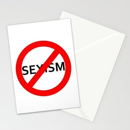STOP Sexism Stationery Cards