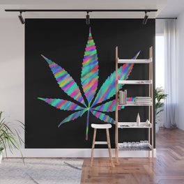 Weed : High Time Colorful Psychedelic Wall Mural