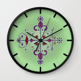 Voodoo Symbol Papa Legba Wall Clock