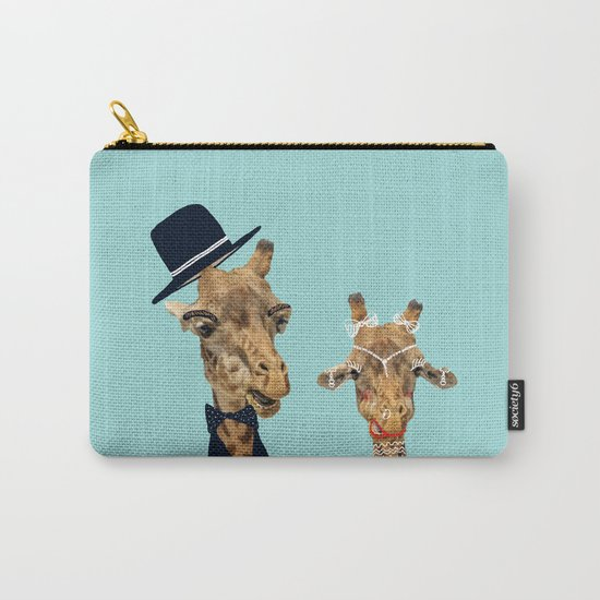 Funny Bride and Groom Carry-All Pouch