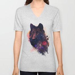 Universal Wolf Unisex V-Neck