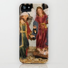 My German Traditions - Christmas Nativity Scene iPhone Case