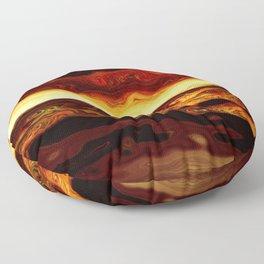 Molten Floor Pillow