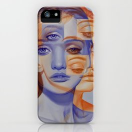 the frost and the flame iPhone Case