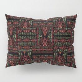 Patchwork seamless snake skin pattern texture Pillow Sham