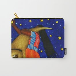'Girl on the Moon with the Stars in her Hand' in the style of R. Morales (Artist Unknown) Carry-All Pouch
