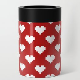 Valentine's Day Pattern Can Cooler