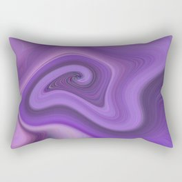 Purple daze 6 Rectangular Pillow