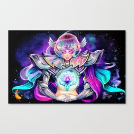 Space Knight Canvas Print