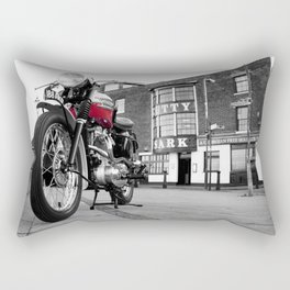 The Trophy TR5 Motorcycle Rectangular Pillow