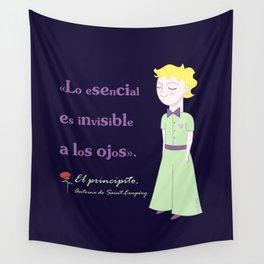 Cute little prince Wall Tapestry