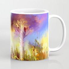 Futuristic landscape Mug