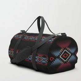 aztec in black number 5 Duffle Bag