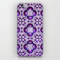 boho iPhone & iPod Skins featuring Boho by Lyle Hatch