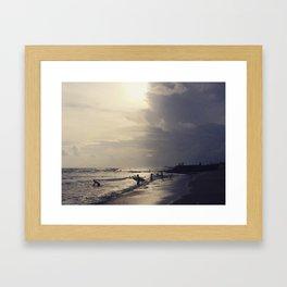 Bali Life Framed Art Print