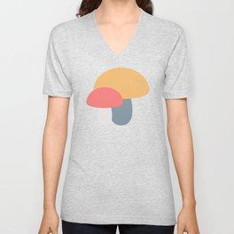 Mushroom Caps Unisex V-Neck