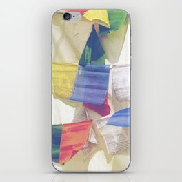 Prayer Flags iPhone Skin