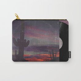 Darkness In The Desert - America As Vintage Album Art Carry-All Pouch