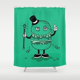 McWealthy  Shower Curtain