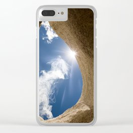 Lung of the Sky Clear iPhone Case