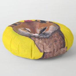 """Cherry on Pup"" Shiba Inu Floor Pillow"