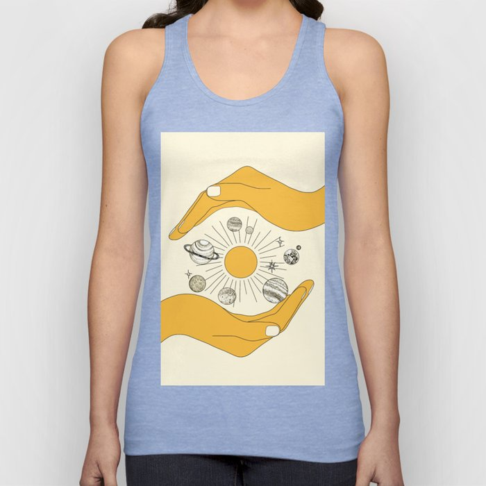The Universe in Your Hands Unisex Tanktop