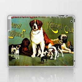 New England Dog Show 1890 Laptop & iPad Skin