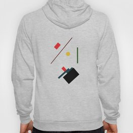Geometric Abstract Malevic #7 Hoody