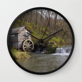 Rural Wisconsin - Hyde's Mill Wall Clock