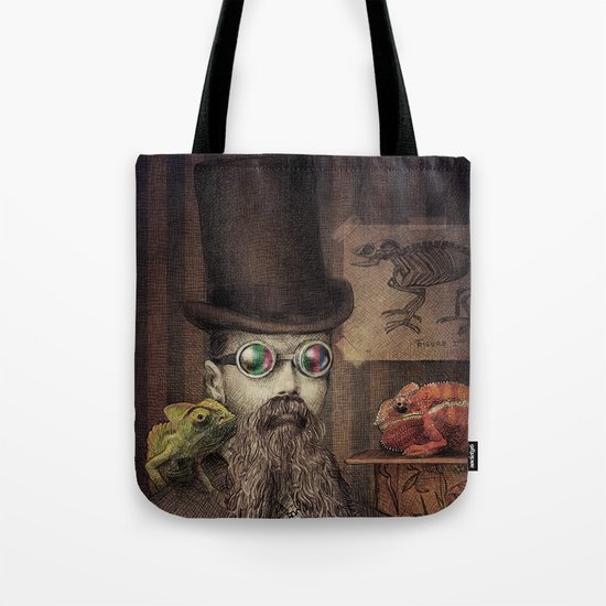 The Chameleon Collector Tote Bag