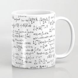Math Equations Kaffeebecher