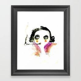 Mme Zuzu Framed Art Print