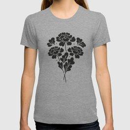 Little Black Roses bouquet T-shirt