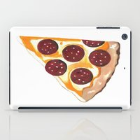 pizza iPad Cases featuring Pizza by Sartoris ART
