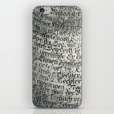 ancient writing iPhone & iPod Skin