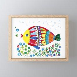 Fish3 Framed Mini Art Print