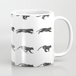 Cat Jump Coffee Mug
